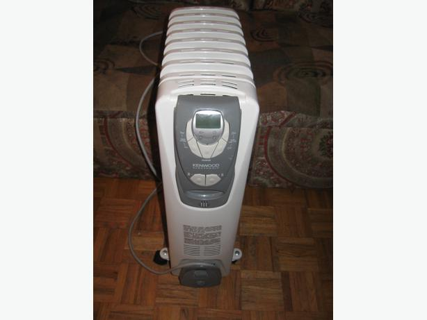 Kenwood Oil Filled Electric Radiator Room Safe Heater