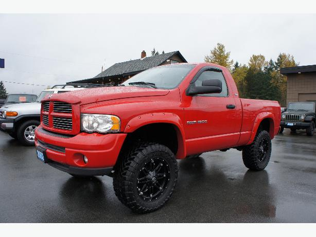 2002 Dodge Ram 1500 Lifted Sport 4x4 Outside Victoria