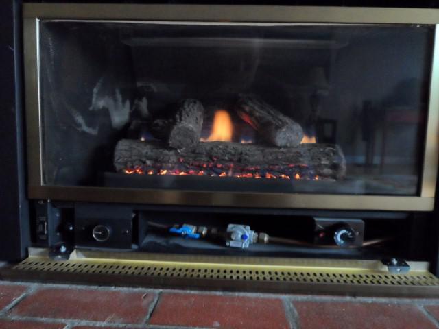 Majestic Insta Flame Gas Fireplace Insert He30 Saanich Victoria