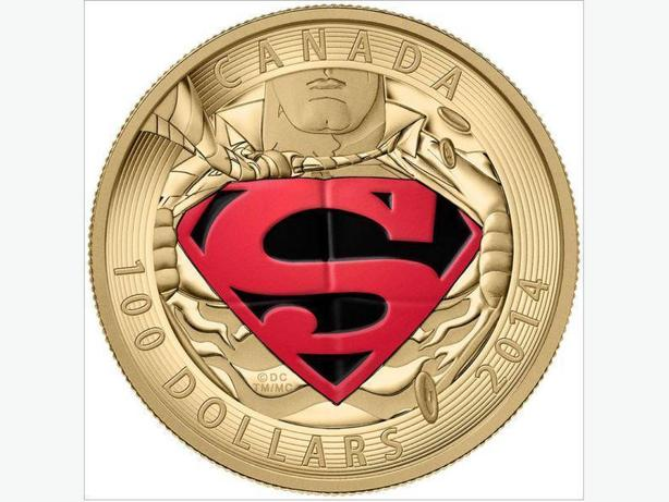 2014 Supeman Gold Coin