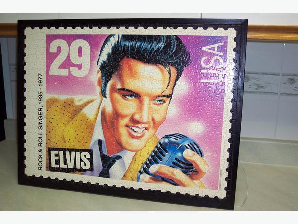 Elvis Presley Framed Puzzle