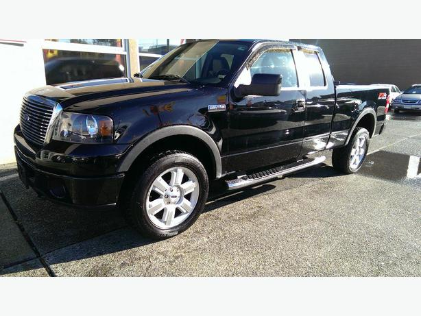 2007 ford f150 fx4 super cab outside nanaimo nanaimo. Black Bedroom Furniture Sets. Home Design Ideas