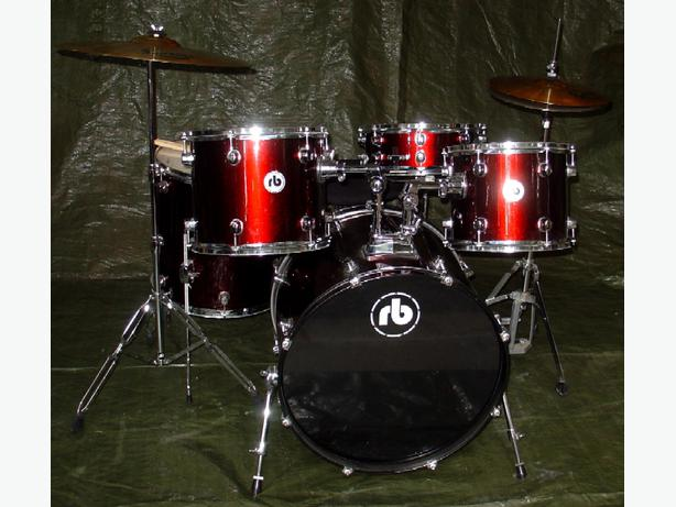 7 piece drum set with cymbals full size stage ready westbury drumset for sale outside nanaimo. Black Bedroom Furniture Sets. Home Design Ideas