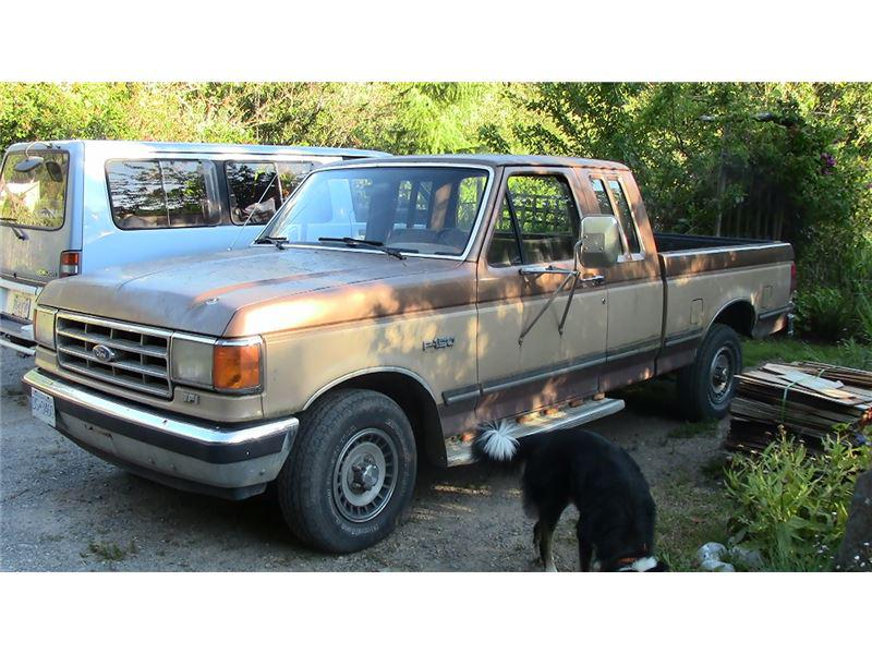 1987 Ford F150 Lariat King Extended Cab Sooke Victoria