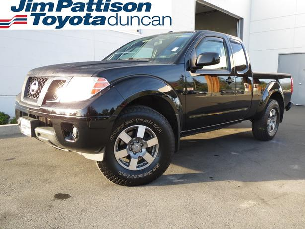 2010 nissan frontier pro 4x h0770 outside victoria victoria. Black Bedroom Furniture Sets. Home Design Ideas