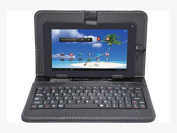 Pretty Book Cover Keyboard : Proscan quot android tablet keyboard book style cover