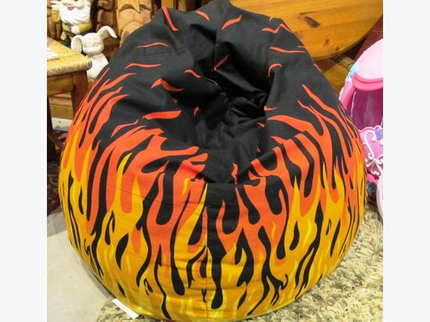 Bean Bag Chair Flame Pattern I 45639
