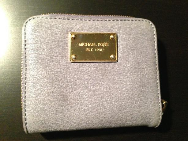 Blue Leather Michale Kors Wallet
