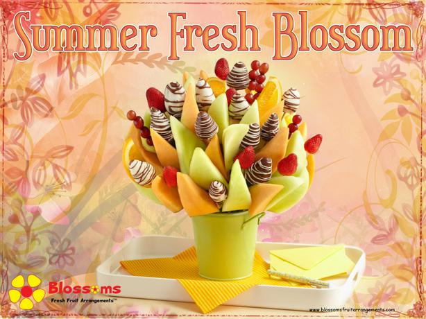 Blossoms Fresh Fruit Arrangements