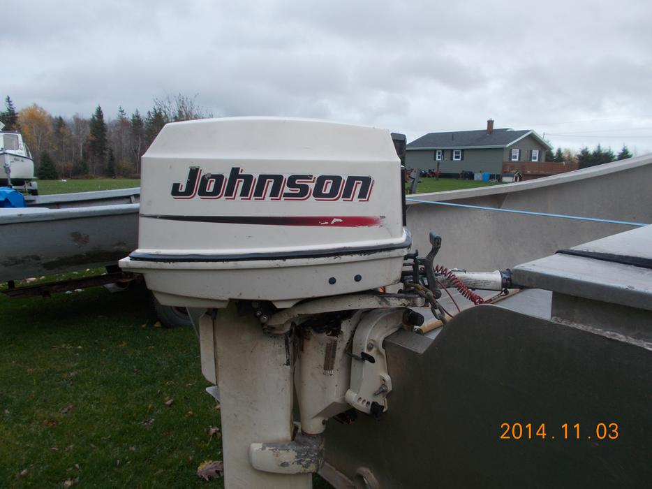 30hp Johnson Outboard Motor Kings County Pei