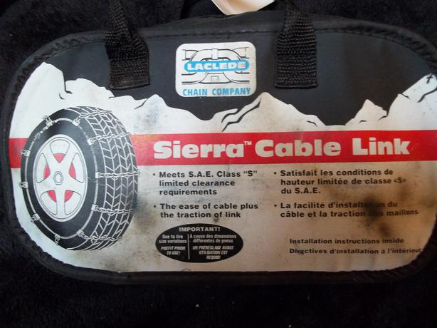 Sierra Cable Link Tire Chains Victoria City Victoria