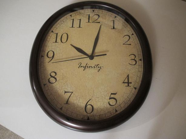 Battery Operated Wall Clock Saanich Victoria