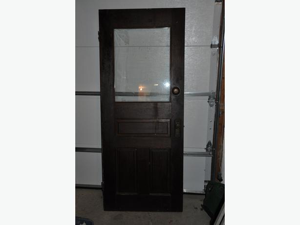 Beautiful Antique Door With Window And Bell South Regina
