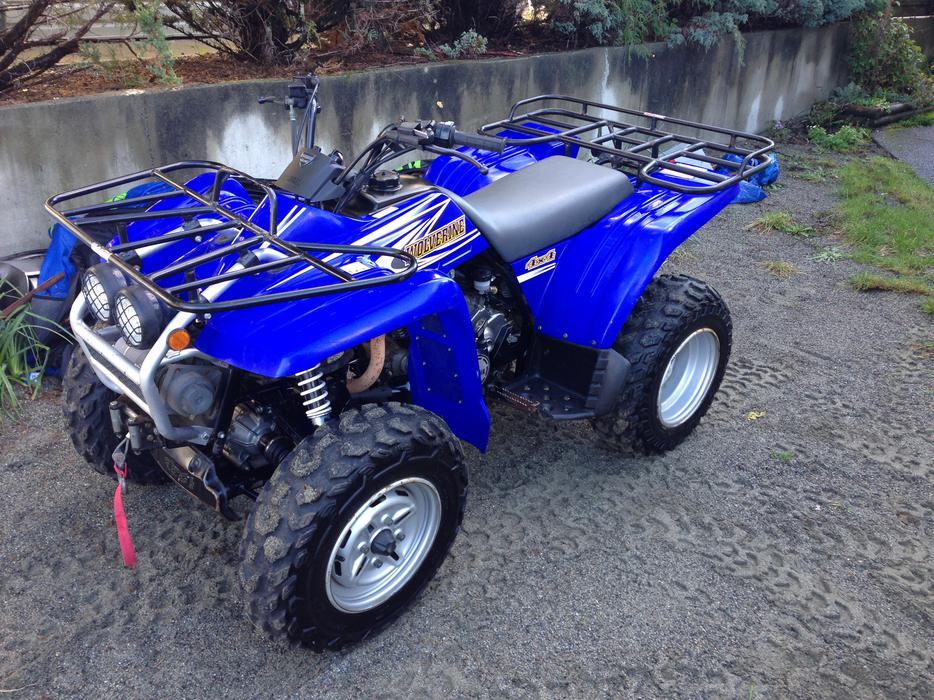 Yamaha Wolverine  Plastics