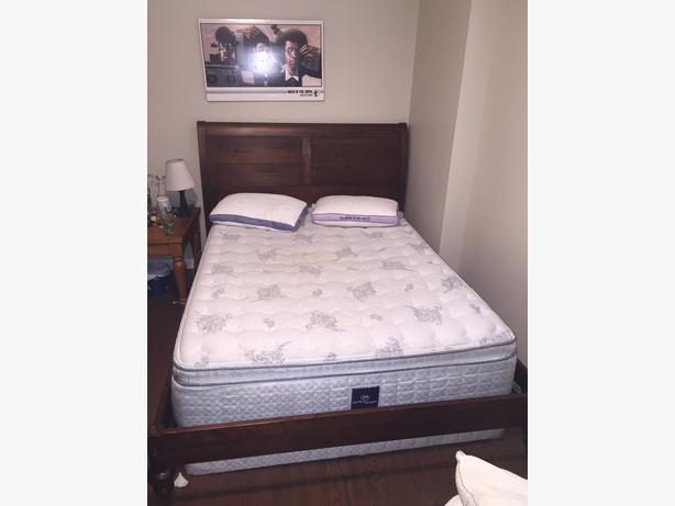 Ethan allen classic island bed frame west shore langford colwood metchosin highlands victoria - Ethan allen metal bed ...