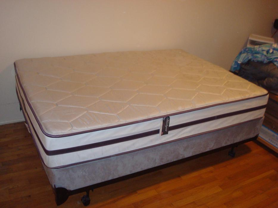 Very Firm Simmons Beautyrest Mattress Set Oak Bay Victoria