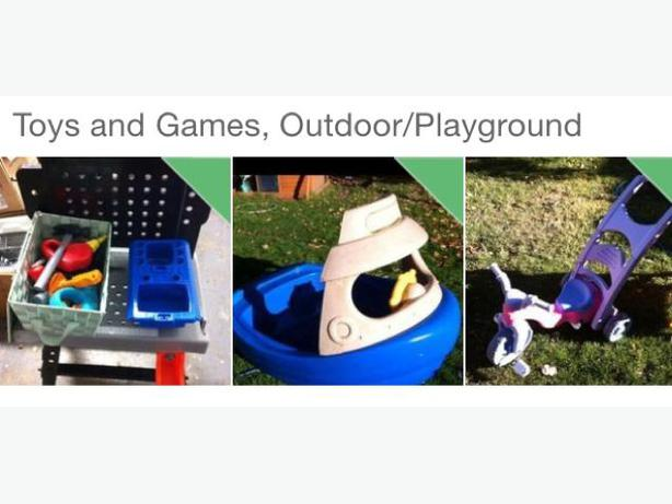 Used Yard Toys : Back yard toys updated west shore langford colwood