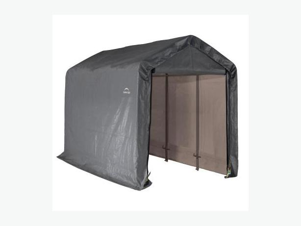 Small portable storage shed saanich victoria for Small portable shed