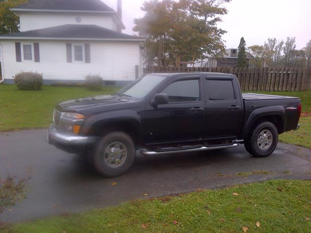 2007 gmc canyon crew cab 4x4 charlottetown pei. Black Bedroom Furniture Sets. Home Design Ideas