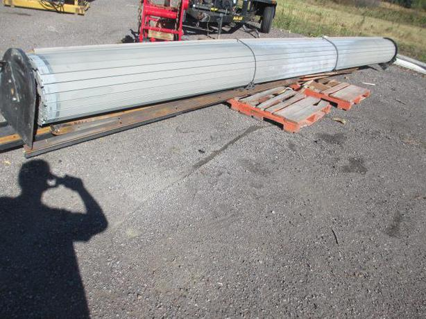 24x16 Foot Electric Steel Rollup Garage Door Outside