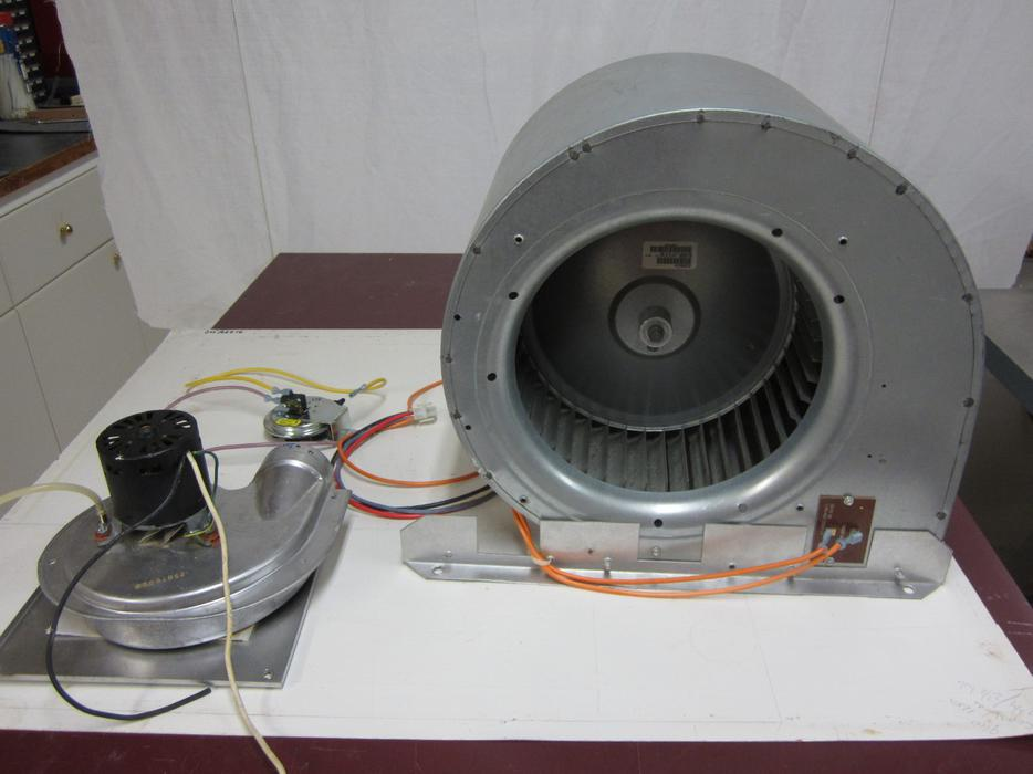 Gas Furnace Blower Motor Assembly Outside Victoria Victoria