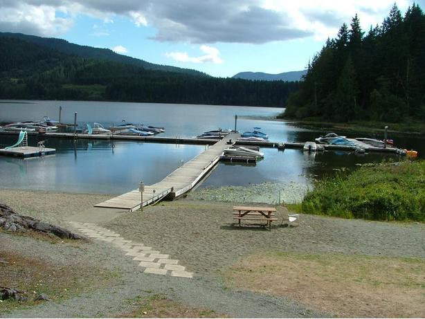 Lake Cowichan RV lot