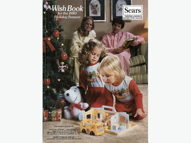 WANTED: WANTED: Sears Christmas Wish Book from the 1980s