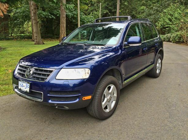 2004 volkswagen touareg v8 loaded north saanich sidney victoria. Black Bedroom Furniture Sets. Home Design Ideas