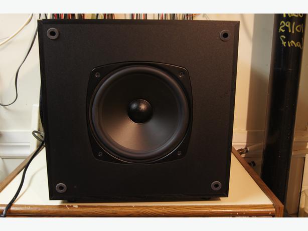 boston acoustics micro90pv subwoofer kanata ottawa. Black Bedroom Furniture Sets. Home Design Ideas