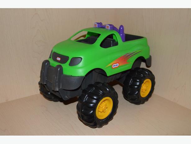 Toys 4 Trucks Green Bay : Vintage little tikes green off road truck saanich