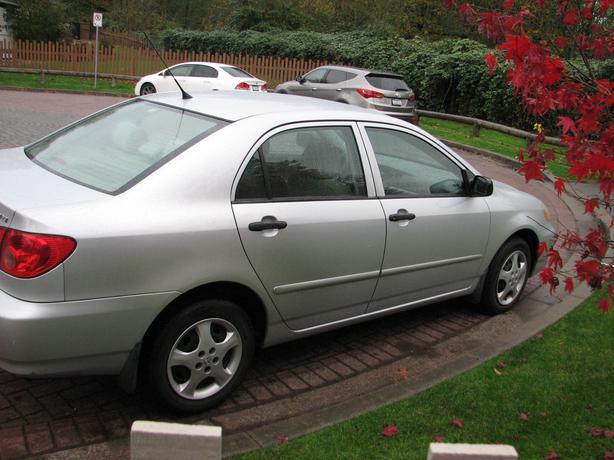 2005 toyota corolla manual surrey incl white rock. Black Bedroom Furniture Sets. Home Design Ideas