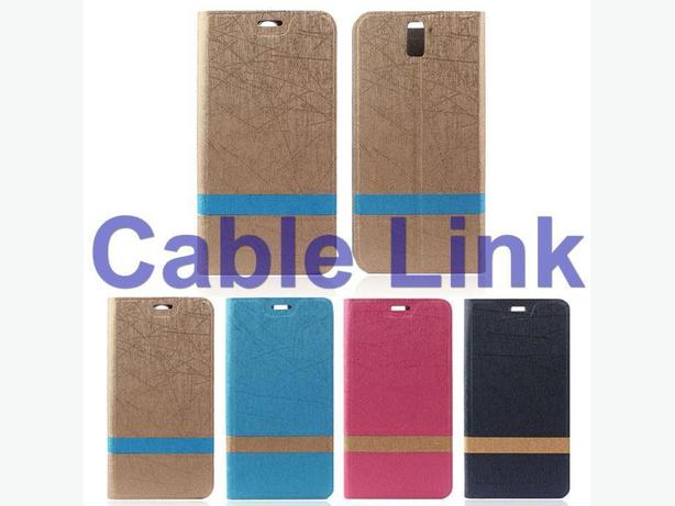 New Premium Leather Wallet Stand Flip Cover Case for OnePlus One