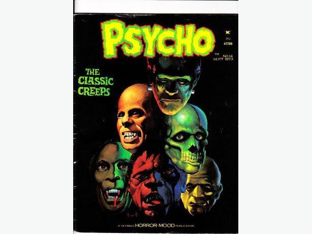 PSYCHO (B&W Horror Magazine) (#14) - Skywald Publications / 1971