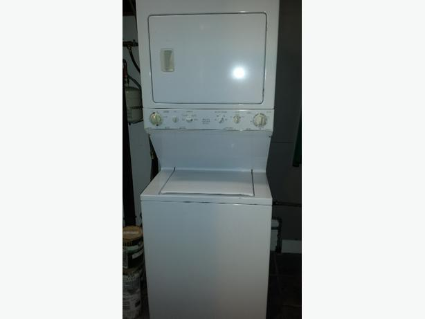 Apartment size stacking washer and dryer Saanich, Victoria