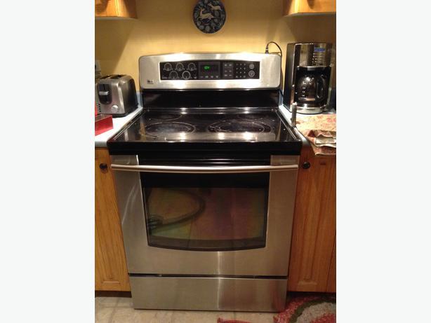 Lg glass top stove repair