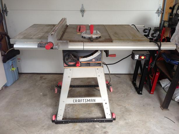 Sears Craftsman Belt Drive 10 Table Saw Price Reduced
