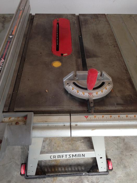 Sears Craftsman Belt Drive 10 Table Saw Price Reduced Central Ottawa Inside Greenbelt Ottawa