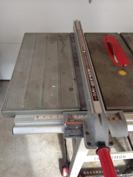 Sears Craftsman Belt Drive 10 Table Saw Price Reduced Central Ottawa Inside Greenbelt Gatineau