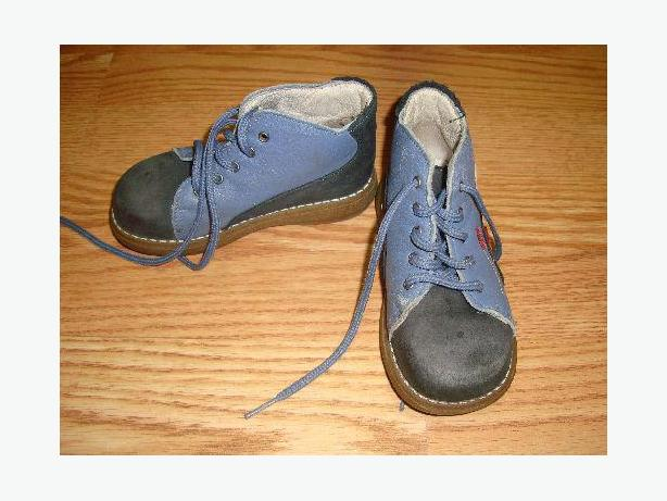 Souris Mini Leather Shoes Boots Size 8 Toddler - Excellent Condition! $4