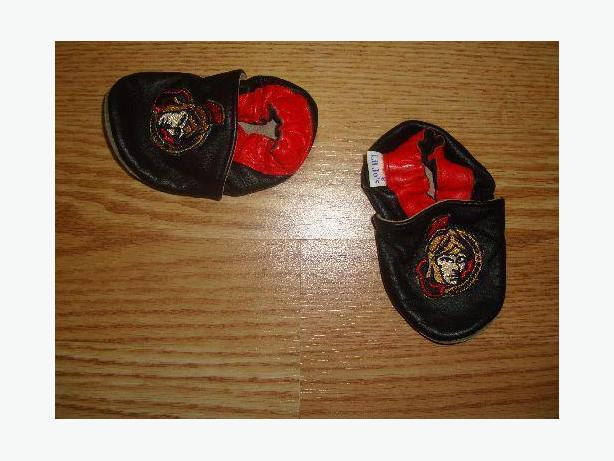 Senators Slippers Leather Senators Size 3-12 months - Excellent Condition! $4