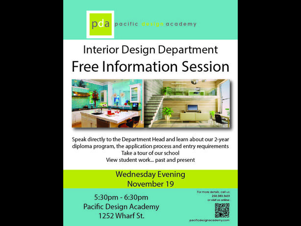 FREE: Interior Design Information Session Victoria City