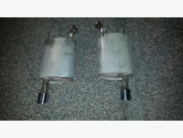 2011 2014 Ford Mustang Gt 5 0 Oem Factory Exhaust Mufflers