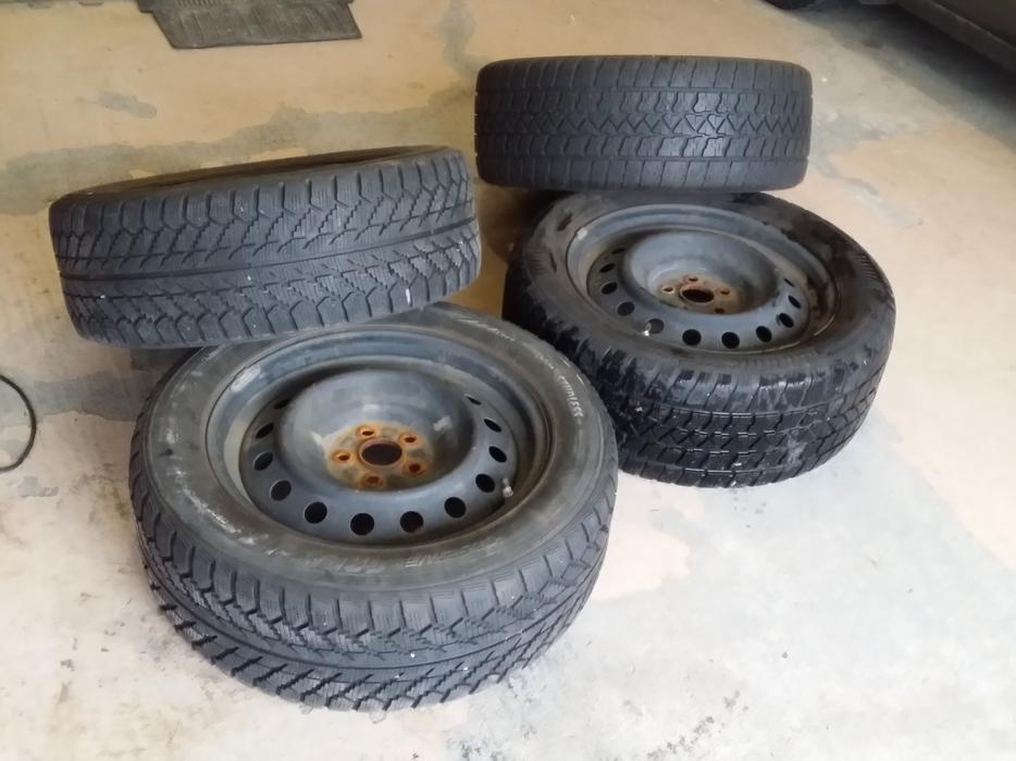 Steel Rims Winter Tires Audi Tt Corolla Golf Jetta