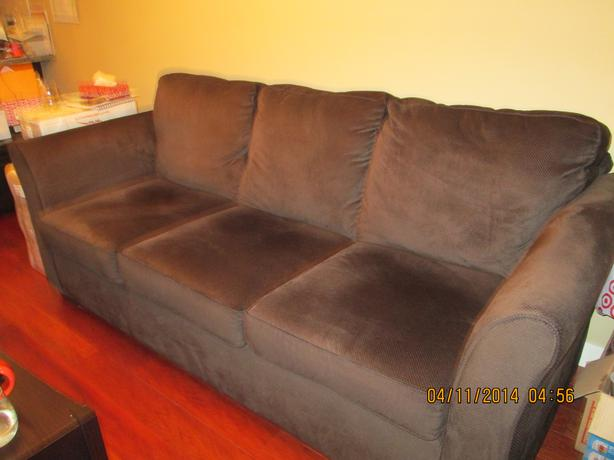 Sofa for immediate sale esquimalt view royal victoria for Suede couches for sale