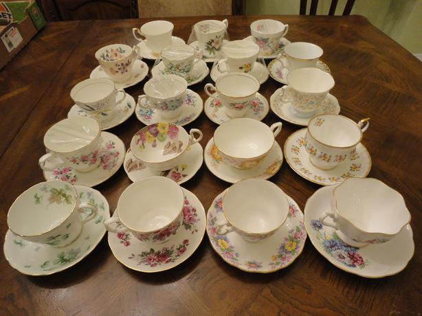 Tea Cup and Saucer Sets (Made in England)