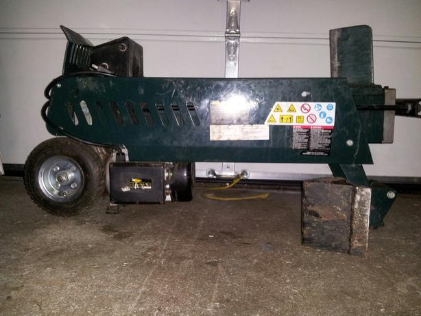 yardworks 6.5 ton log splitter manual