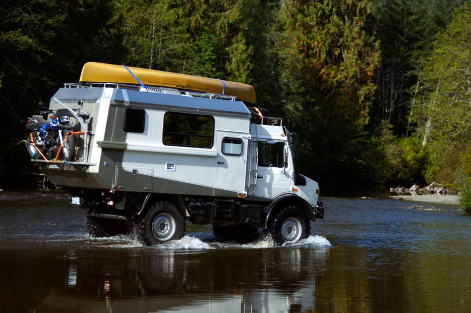 Unimog Expedition Camper Outside Metro Vancouver Vancouver