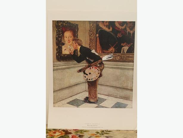 """Norman Rockwell's """"The Art Critic"""""""