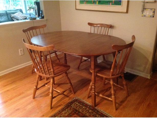 Vilas maple dining table Saanich Victoria : 42927707614 from www.usedvictoria.com size 614 x 461 jpeg 40kB