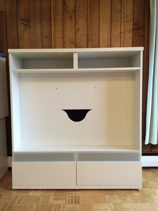 Ikea Besta Boas White TV Stand New Price Victoria City